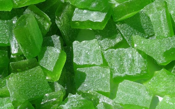 Fond d'écran Bonbons marmelade verte