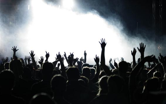 Fondos de pantalla Manos, gente, concierto