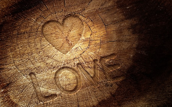 Wallpaper Love, stump