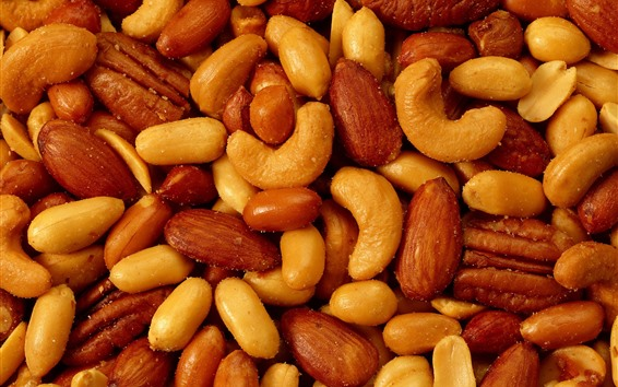 Wallpaper Roasted nuts
