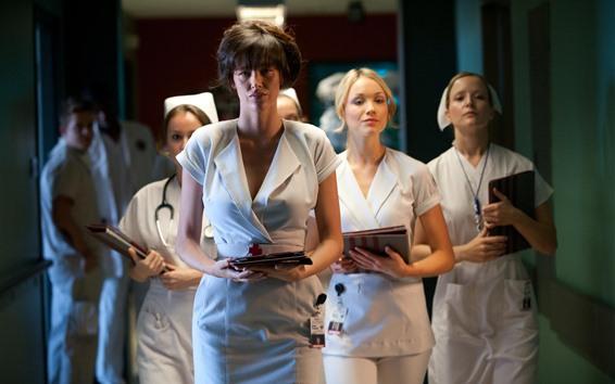 Wallpaper Some nurses, girls