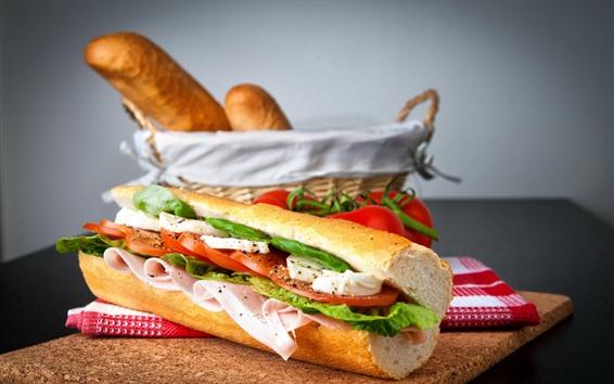 Fond d'écran Sandwich, pain, restauration rapide