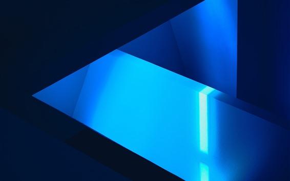 Wallpaper Blue geometric, abstract