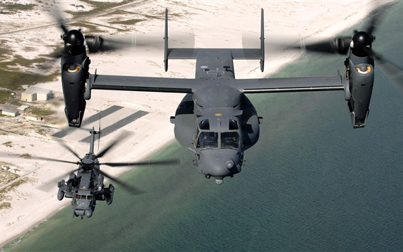 Wallpaper CV 22 osprey military aircraft