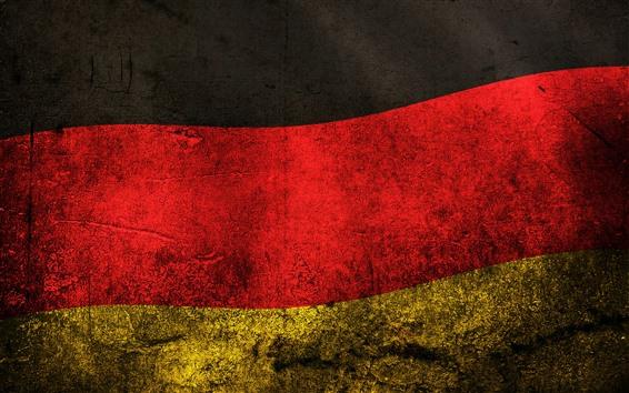Fond d'écran Drapeau Allemagne