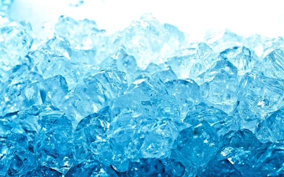 Fond d'écran Quelques glaçons bleus