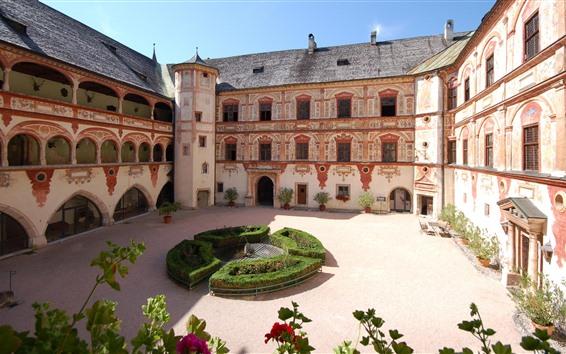 Papéis de Parede Castelo de Tratzberg, Áustria