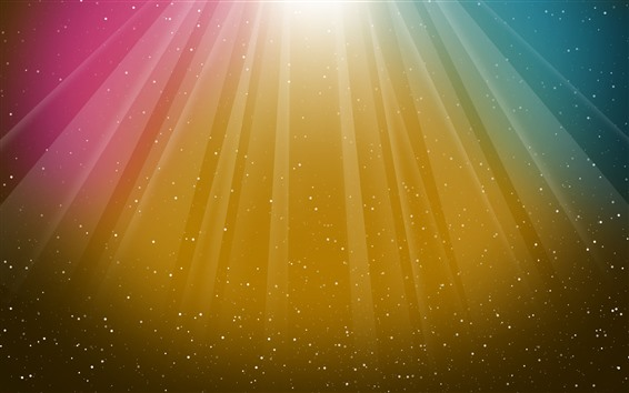 Papéis de Parede Listras coloridas, estrelas, abstrato