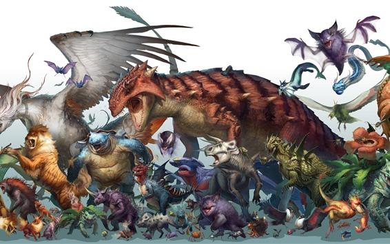 Fondos de pantalla Pokémon, animales, anime