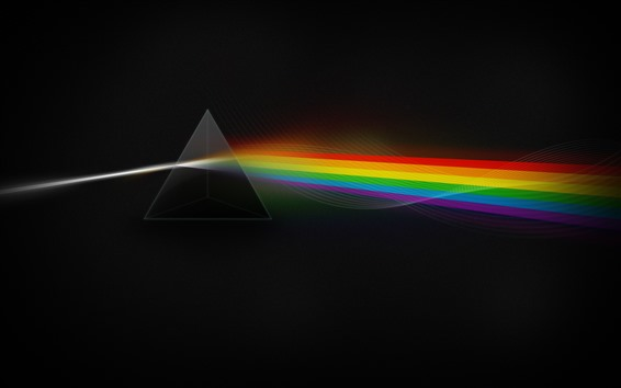 Wallpaper Prism, split light, rainbow