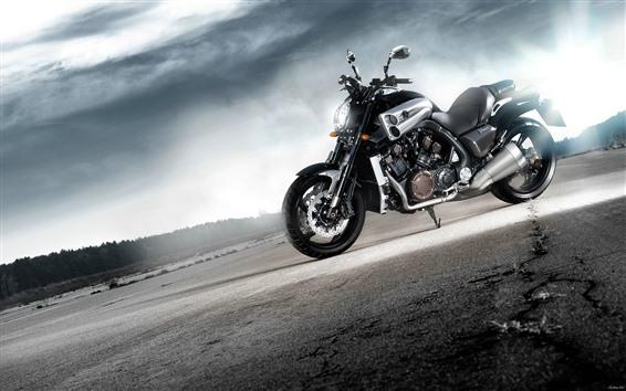 Wallpaper Yamaha cool motorcycle, sunshine