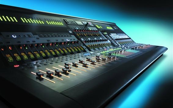 Wallpaper Audio control mixer, equalizer