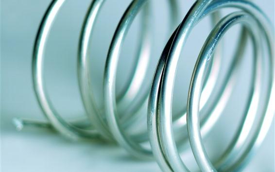 Papéis de Parede Fio de metal, espiral