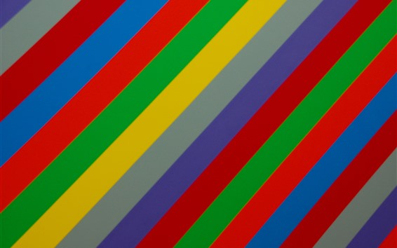 Wallpaper Rainbow colors stripes, abstract