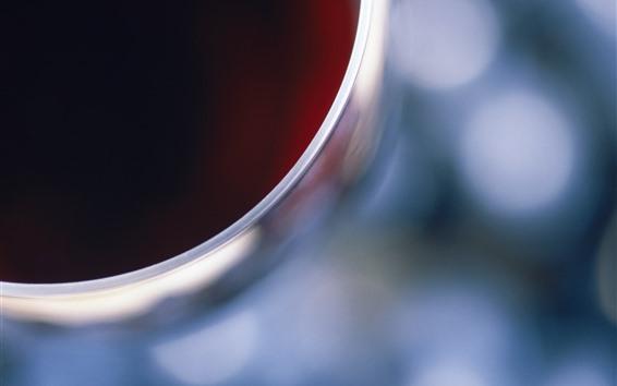 Fond d'écran Vue de dessus de coupe en verre, vin, brumeux
