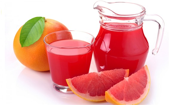 Wallpaper Grapefruit, red, fruit juice, drinks