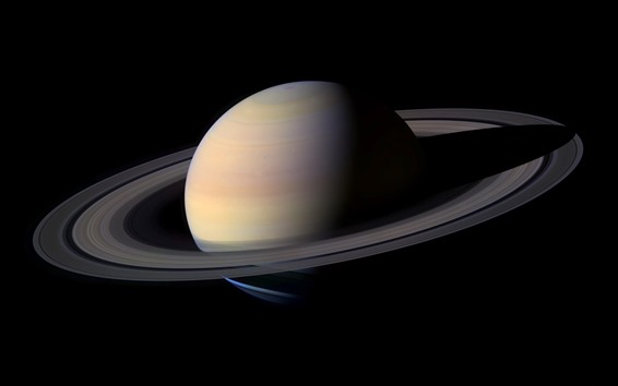 Wallpaper Saturn, ring, planet, space