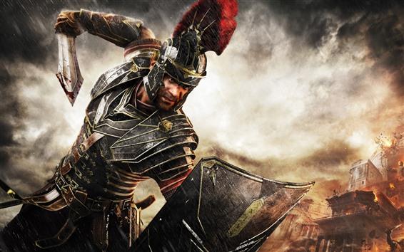 Fondos de pantalla Guerra, guerrero, armadura, espada
