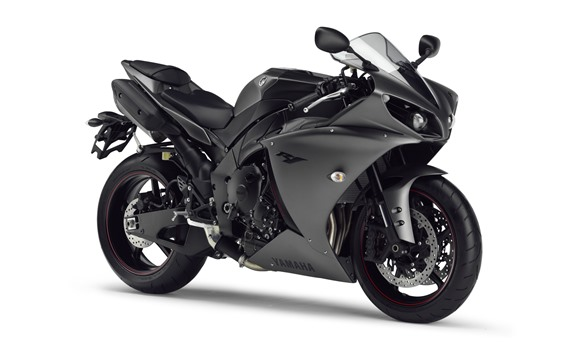 Wallpaper Yamaha YZF R125 black motorcycle