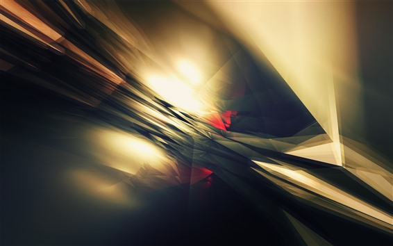 Fondos de pantalla Luz abstracta, líneas, galre