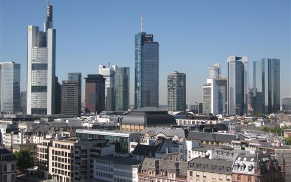 Fond d'écran Francfort, Allemagne, ville, bâtiments