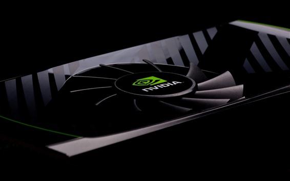 Fond d'écran Carte graphique Nvidia, ventilateur