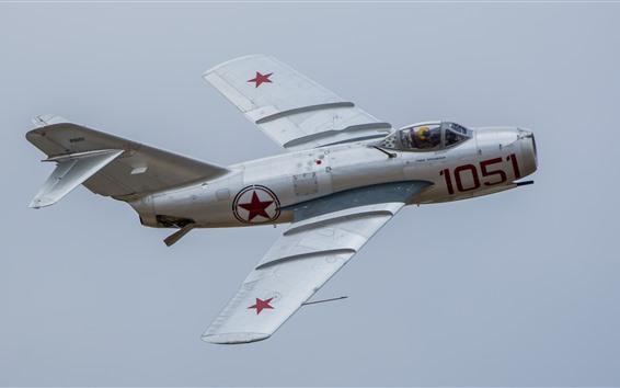 Wallpaper MiG-17 jet fighter