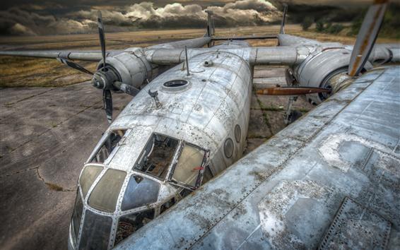 Papéis de Parede Avião velho