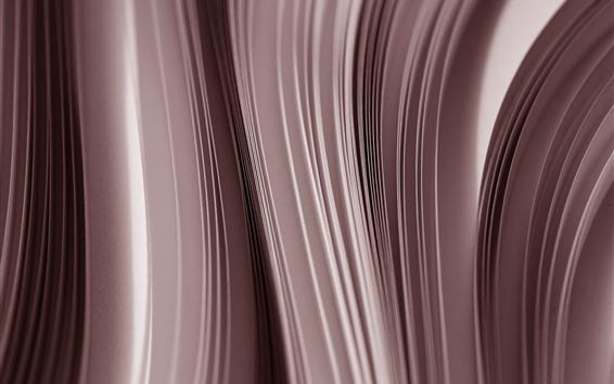 Papéis de Parede Papel, vista lateral, curvas