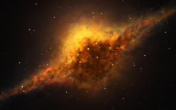 Wallpaper Nebula, universe, stars, beautiful