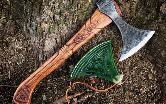 桌布 斧頭工具