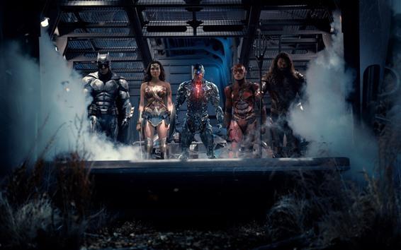 Fondos de pantalla Liga de justicia, superhéroes.