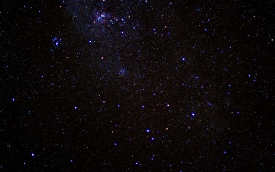 Wallpaper Many stars, sky, space, night