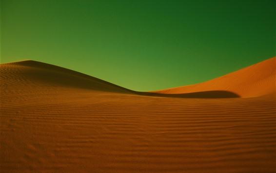 Papéis de Parede Deserto, fundo verde