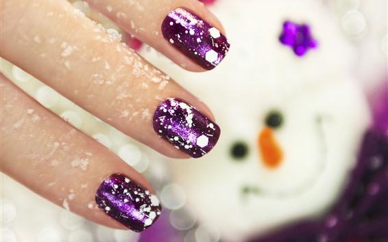 Wallpaper Fingers, nails, decoration, shine