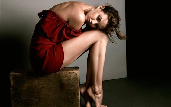 Fond d'écran Fille, modèle, jambes, photoshoot