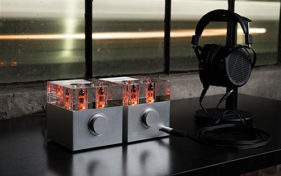 Wallpaper Headphone Amplifier, tube amplifier