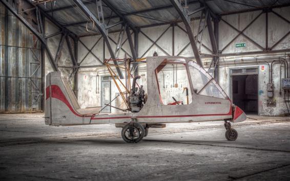 Wallpaper Homemade plane