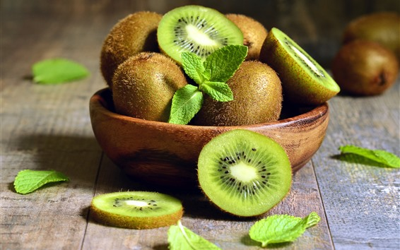 Fondos de pantalla Kiwi fresco, fruta