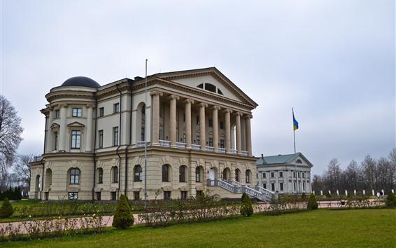Wallpaper Razumovsky Palace, Ukraine