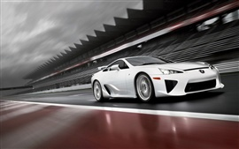 Preview wallpaper 2011 Lexus LFA