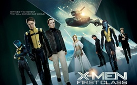 Preview wallpaper 2011 X-Men: First Class