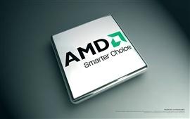 壁紙のプレビュー AMD