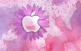 Preview wallpaper Apple pink flowers