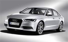 Preview wallpaper Audi A6 Hybrid 2011