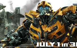Preview wallpaper Bumblebee In Transformers 3