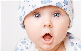 Aperçu fond d'écran Surprise bébé mignon