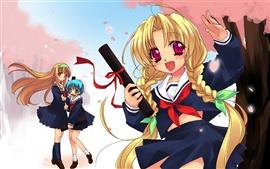 Aperçu fond d'écran Bonne anime girl