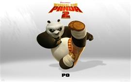 Vorschau des Hintergrundbilder Kung Fu Panda 2 PO