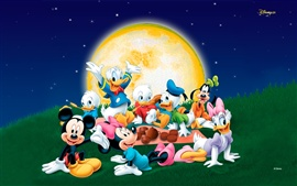 Preview wallpaper Mickey carnival night